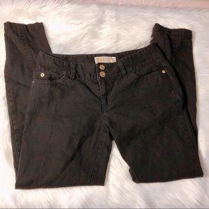 🌻BOGO Michael Kors Black Jean Capris Size 0 GUC